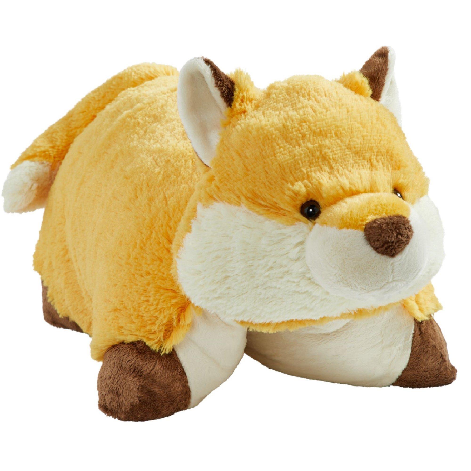 Pillow Pets Original, Wild Fox, 18'' Stuffed Animal Plush Toy