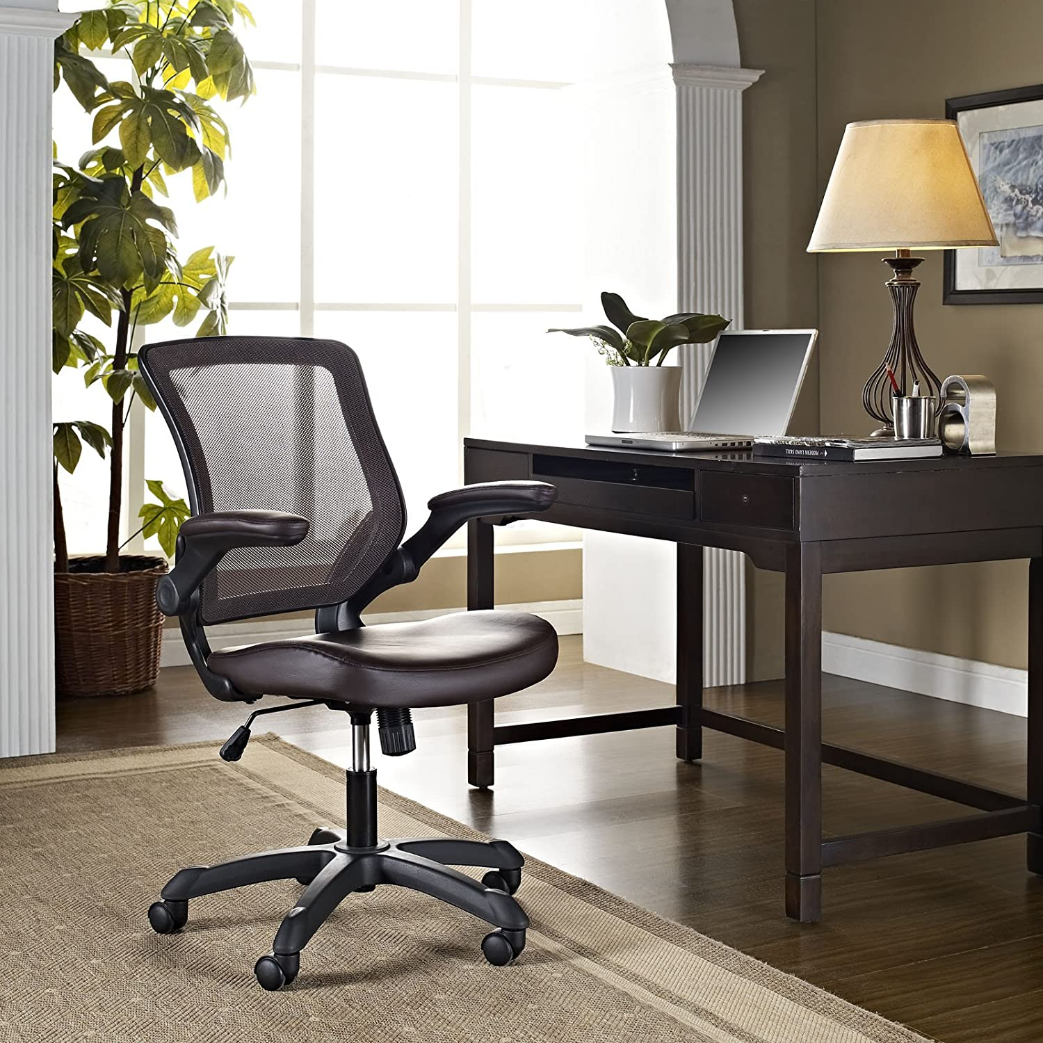 Amazon Modway Veer fice Chair with Mesh Back and Mesh Seat