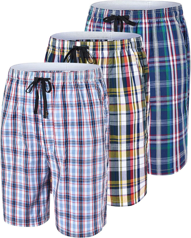 Hanes Mens Mens 2-Pack Woven Pajama Short Pajama Bottoms