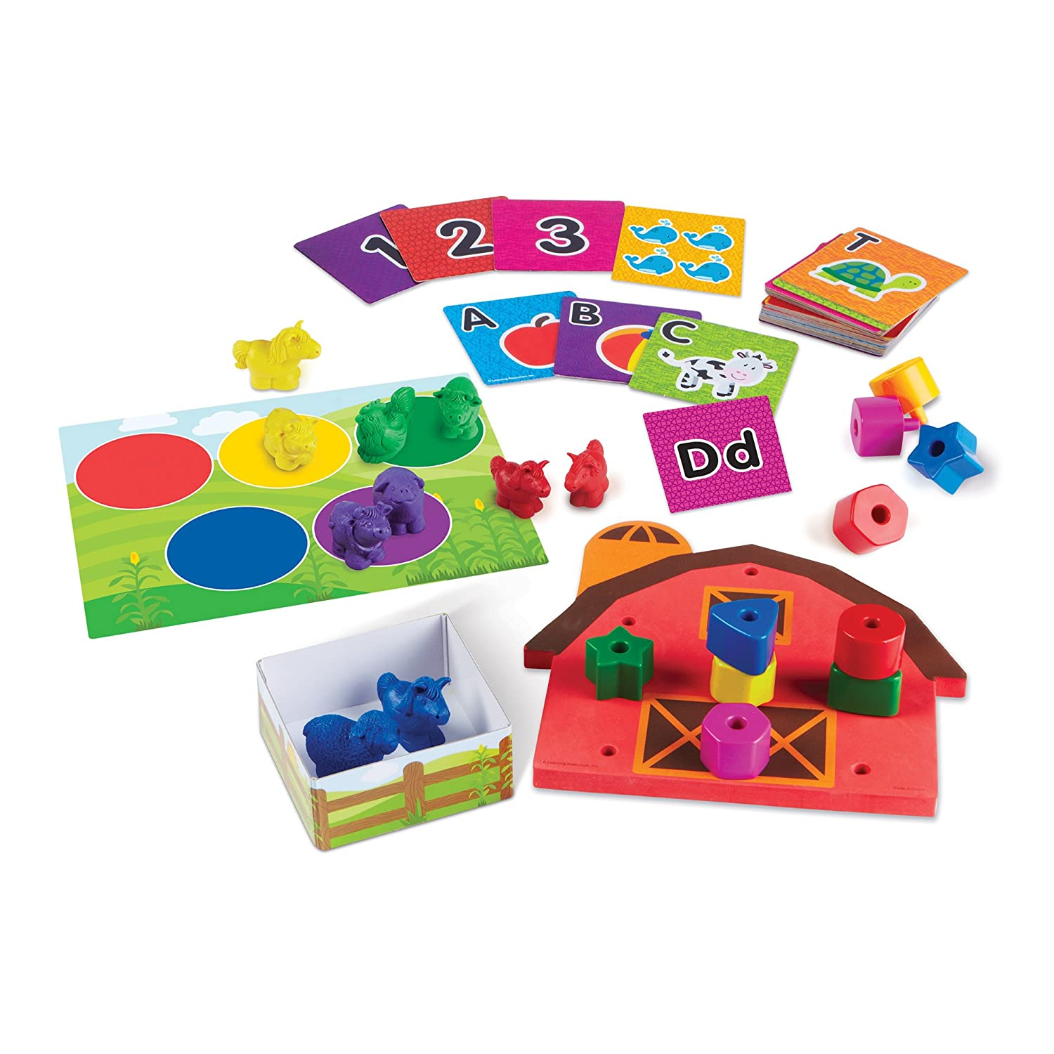 Learning Resources LER3483 All Ready for Toddler Time Activity Set