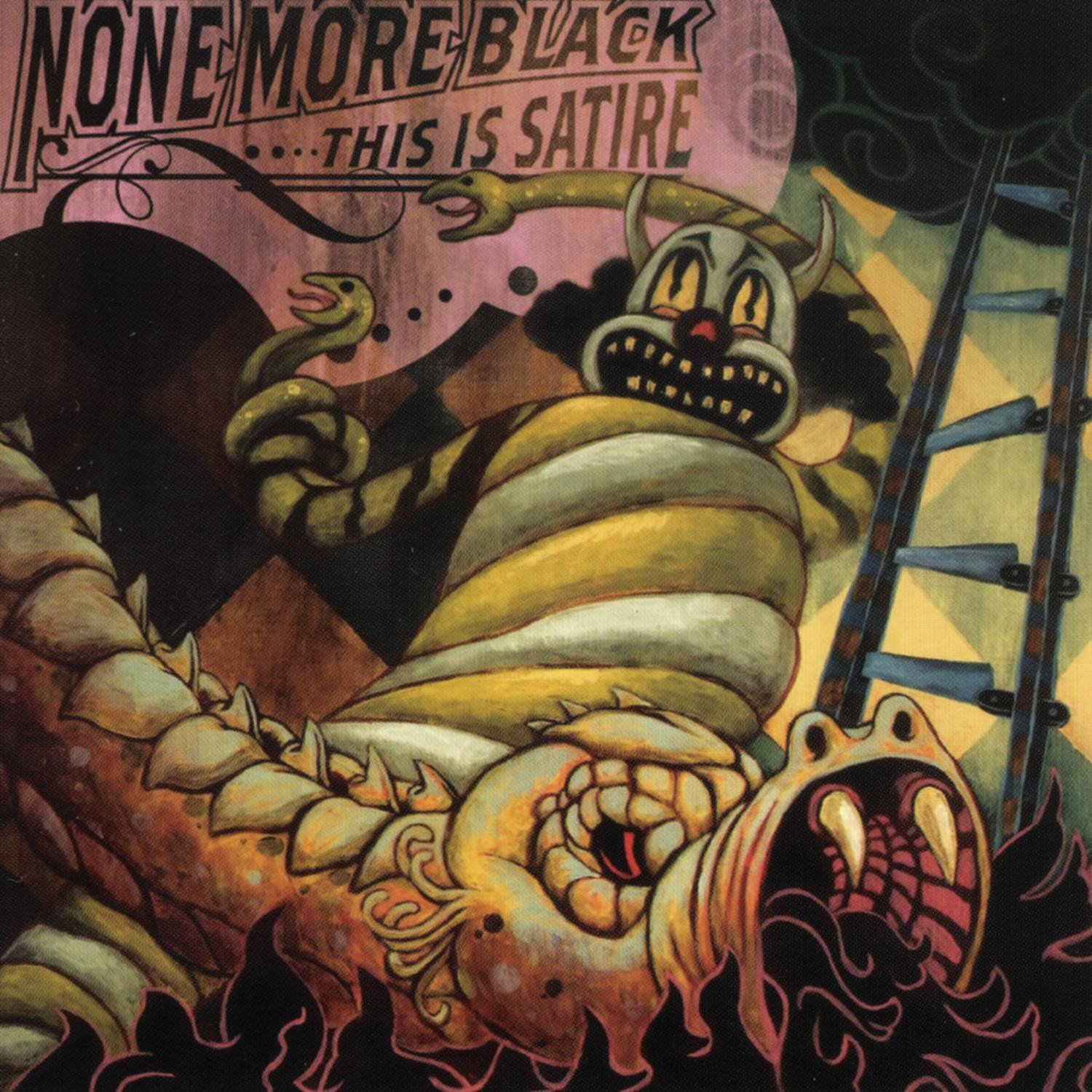 CD : None More Black - This Is Satire (CD)