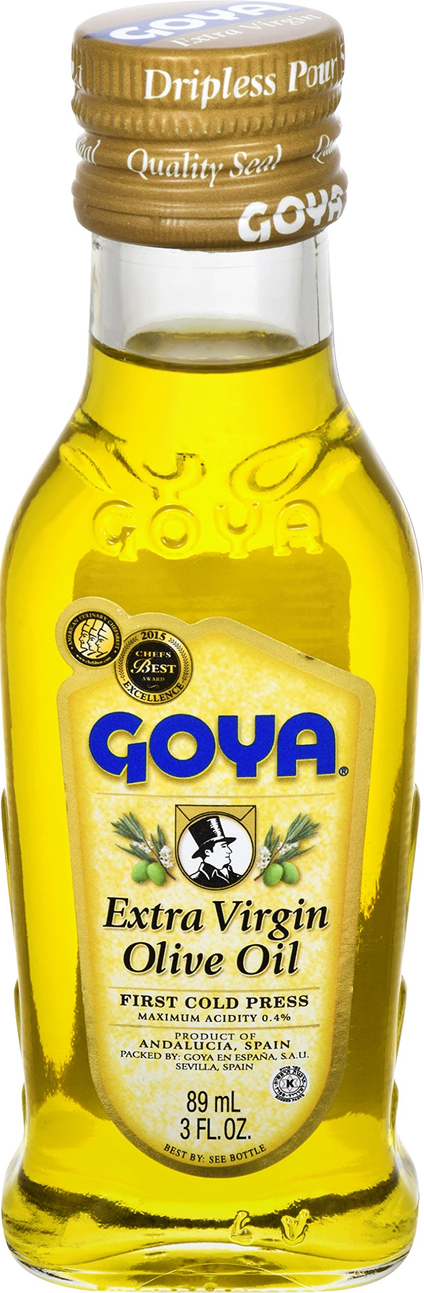 Goya Foods Extra Virgin Olive Oil, 3 Ounce