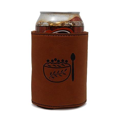 Enfriador de funda de piel puede funda de harina de avena, cerveza, cerveza,