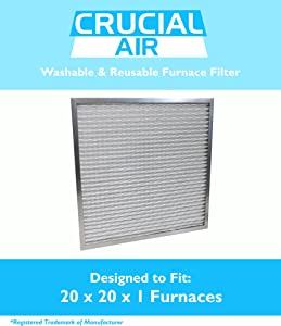 20x20x1 Electrostatic Washable Permanent A/C Furnace Air Filter
