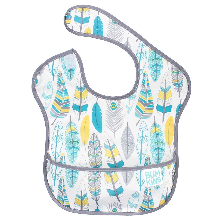 Babybibs2-B Pack of 4 Storeofbaby Baby Bandana Drool Bibs with Adjustable Snaps,Cute Vibrant Print Pattern