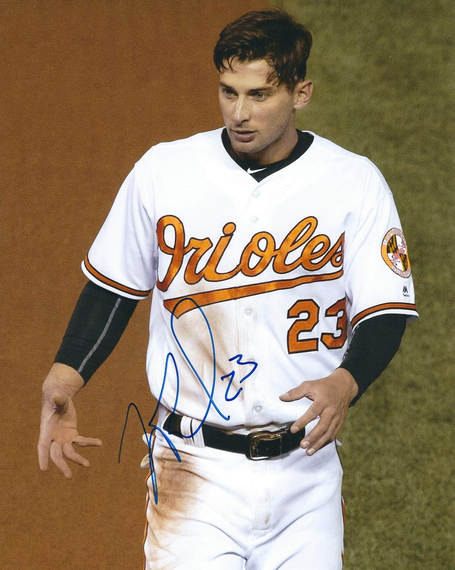 Signed 8x10 Joey Rickard Baltimore Orioles Autographed photo COA