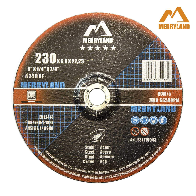 Merryland 230 X 1,9 Expert-line Disque /à Tron/çonner Acier Inoxydable M/étal 25PCS