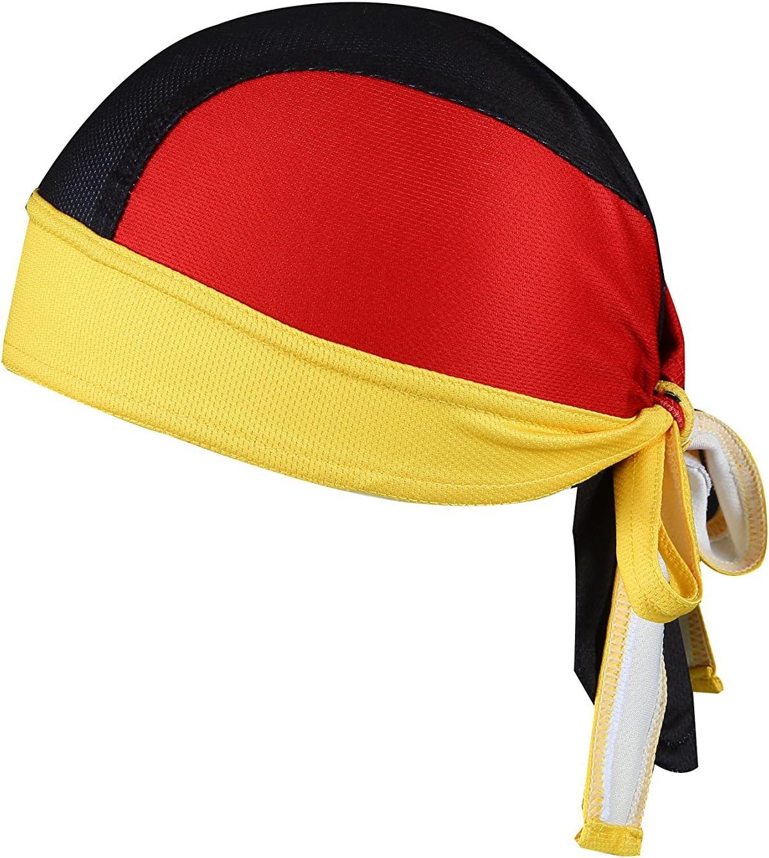 ShopINess Gorro Bandana Banderas (Germany): Amazon.es: Deportes y aire libre