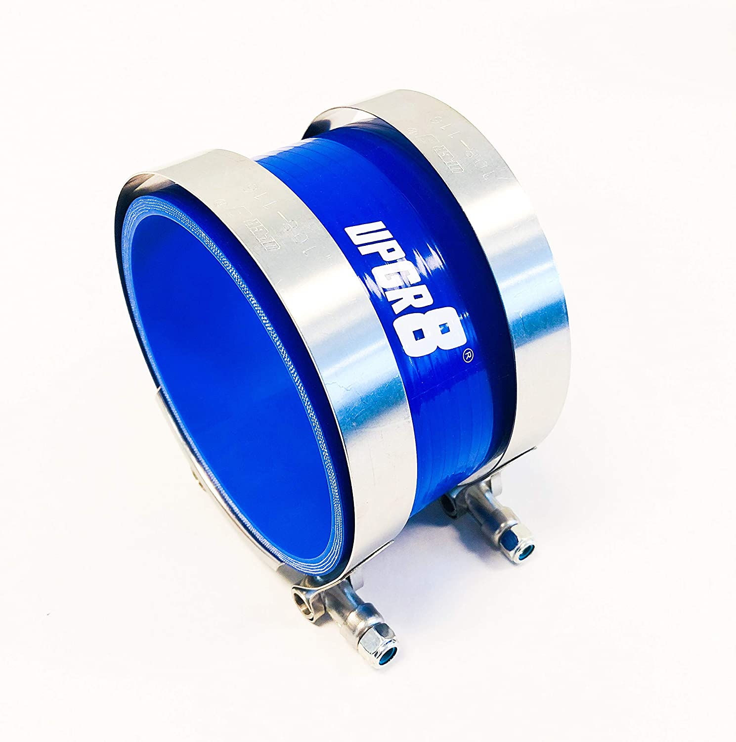 T-Bolt Clamp Upgr8 Universal 4-Ply High Performance 2.75 Straight Coupler Silicone Hose 70mm 2.75 Blue