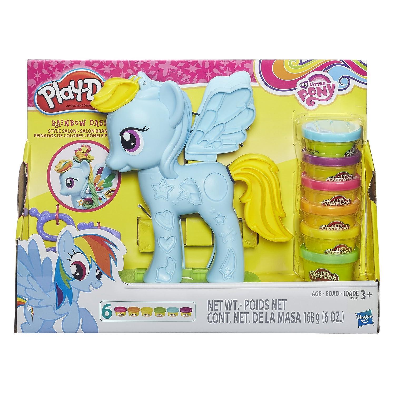 Play-Doh My Little Pony Rainbow Dash Style Salon Playset B0011