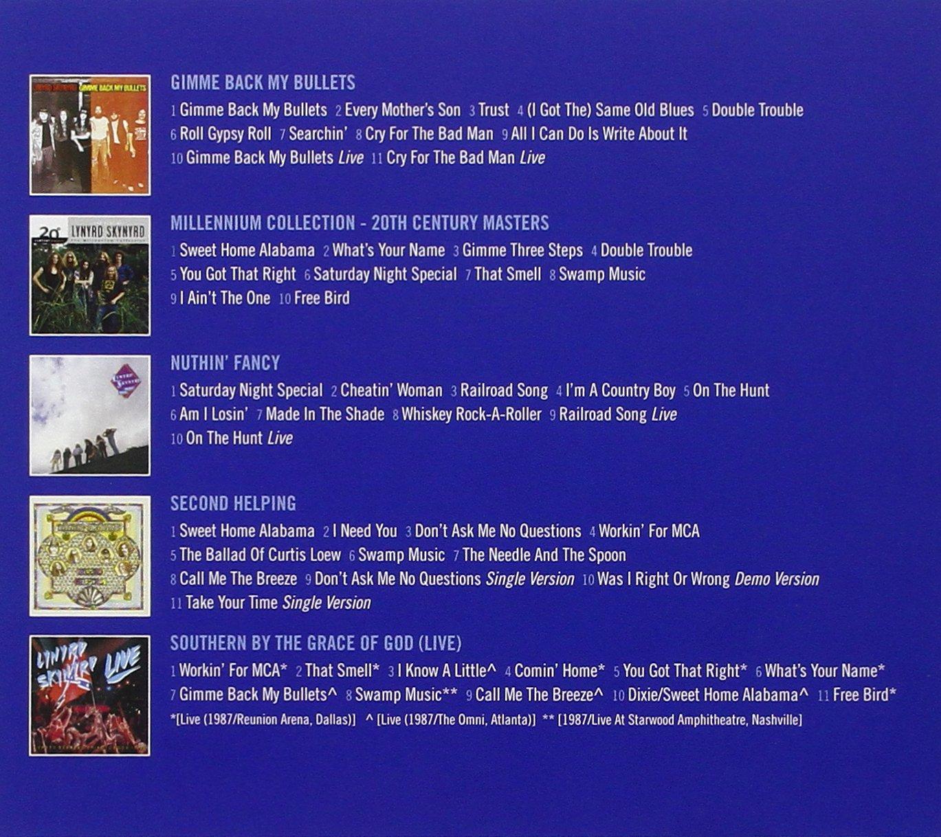 5 Classic Albums Lynyrd Skynyrd Amazonde Musik