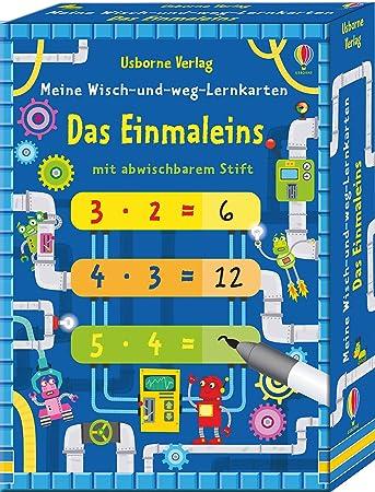 Meine Wisch-und-weg-Lernkarten Das Einmaleins