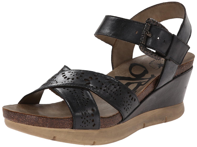 OTBT Women's Gearhart Wedge Sandal B00IJINDMM 10 B(M) US|Black