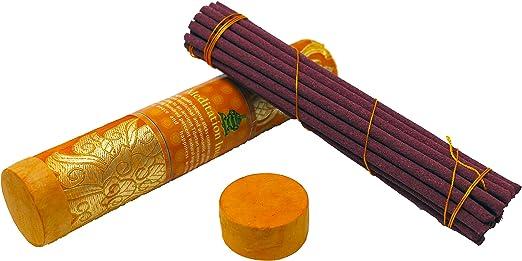 "8/"" Long 15 Incense Sticks Fresh New Fragrance Himalayan Flora Incense Sticks"