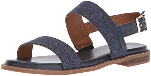 f69fbc4369d6 Franco Sarto Women s Velocity Flat Sandal  Amazon.ca  Shoes   Handbags