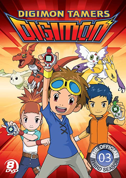 Digimon Tamers [DVD] [Region 1] [US Import] [NTSC]: Amazon