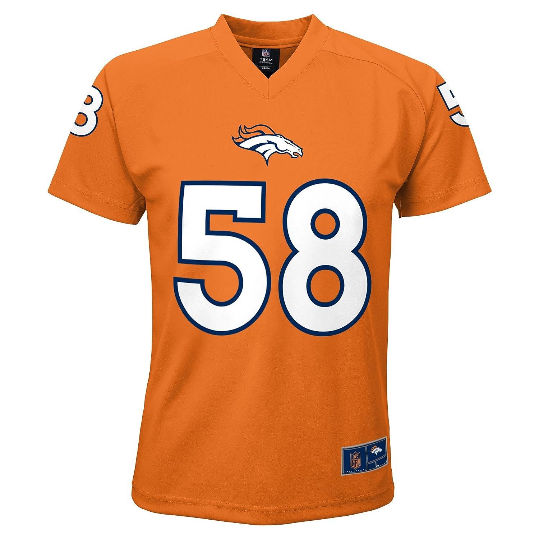 【おすすめ】 NFL Player Boys 4 – Name 7 von miller Denver B06X6K1TTP Broncos Player Name & Number VネックTシャツ、スモール/4、オレンジ B06X6K1TTP, 小袋ショップ:24dfacec --- a0267596.xsph.ru