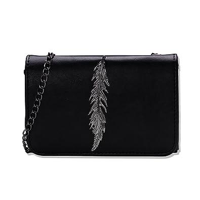 miglior sito web b896f 87654 NUVOLA borsa nera donna borsa tracolla borsa pelle nero borse donna borsa a  spalla elegante con buono regalo san valentino
