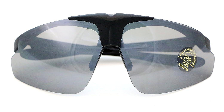 Lunettes de soleil protection tir sportif, 3 paires de verres, compatible  avec verres correcteurs  Amazon.fr  Sports et Loisirs 265f3e92e3a9