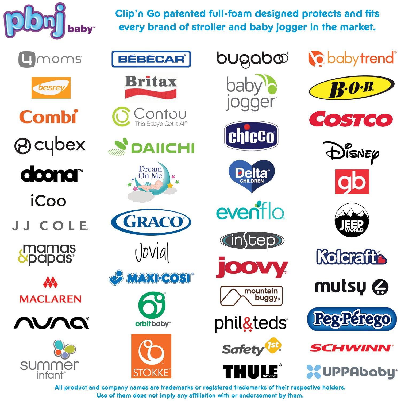 Amazon.com: PBnJ Baby Clip n Go – 2 unidades XL organizador ...