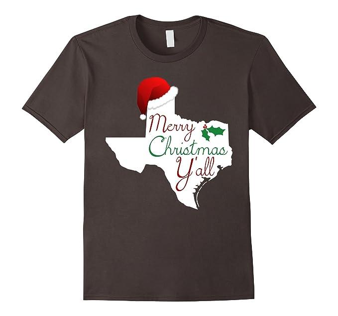 mens texas christmas shirt merry christmas yall texas xmas tee 2xl asphalt