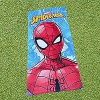 Toalla de Playa Spiderman, 100% Algodón, 70X140 cm, Producto Oficial Marvel