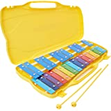 Performance Percussion G5-G7 25 Note Glockenspiel with Coloured Keys