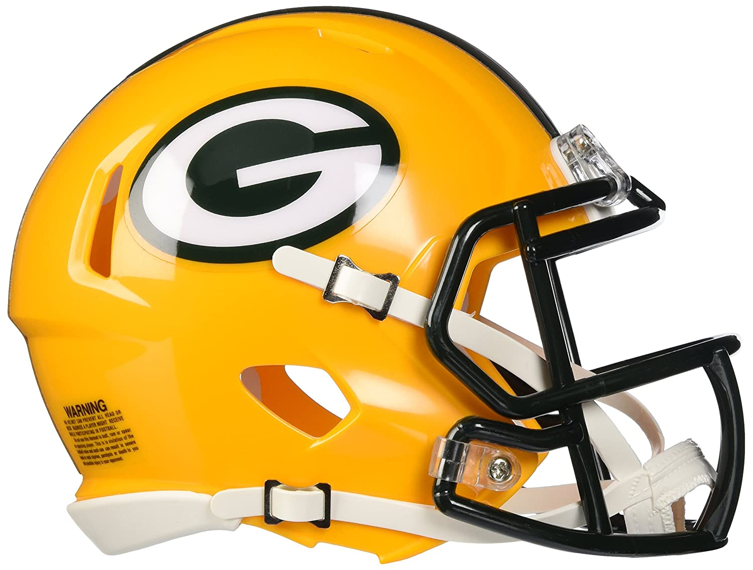 amazon com riddell revolution speed mini helmet green bay