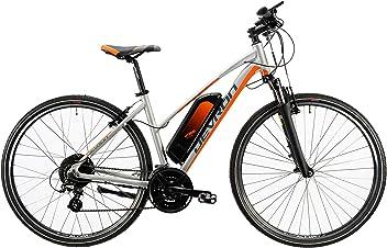 932a8be7893119 LLobe Devron Marken Elektro Fahrrad Devron E-Bike Trekking Silver - 36V 250  Watt