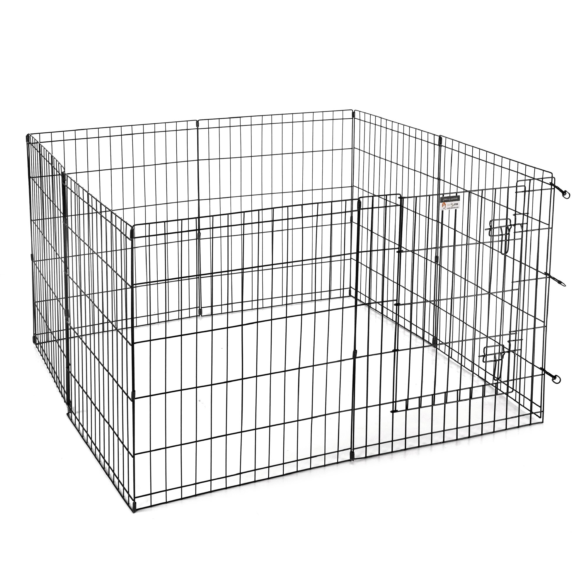 Pet Trex 30'' Playpen for Dogs Eight 24'' Wide x 30'' High Panels by Pet Trex (Image #3)
