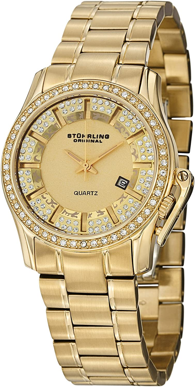 Stuhrling Original Women s 910.02 Calliope Date Gold