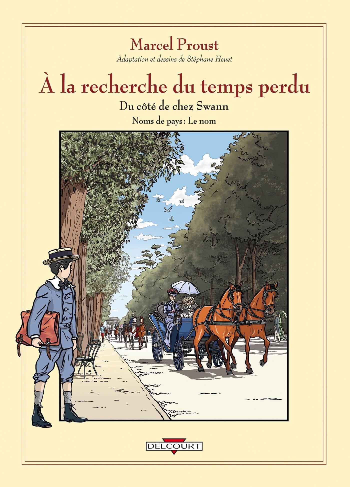 Marcel Proust, À la recherche du temps perdu - Du côté de chez Swann. Noms de pays: le nom
