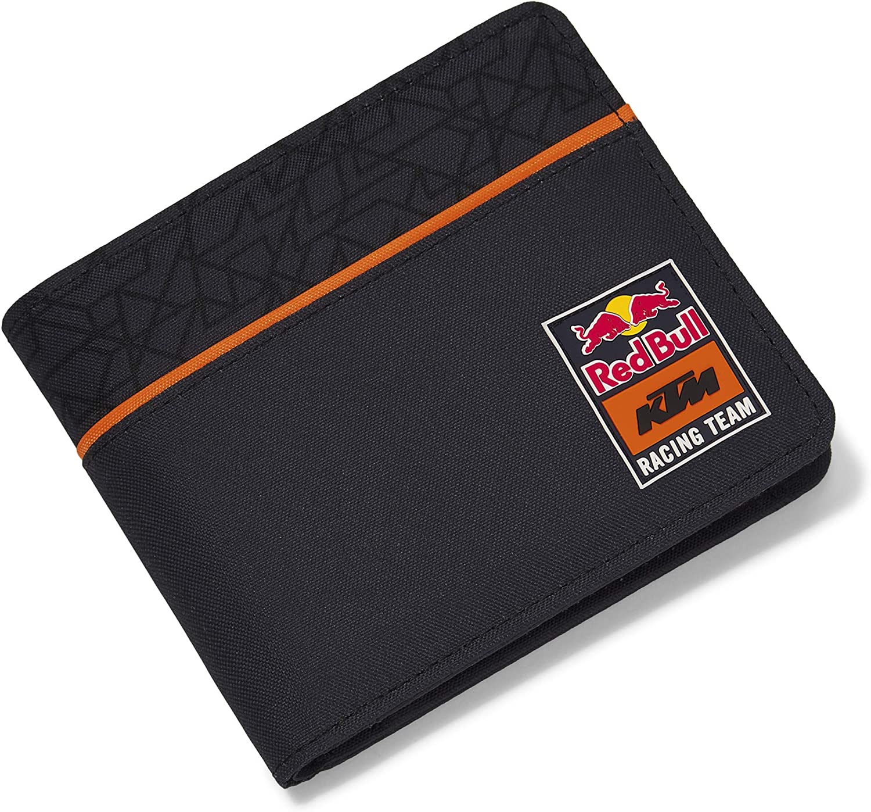Red Bull KTM Mosaic Cartera, Azul Unisexo Talla única Monedero, Red Bull KTM Factory Racing Original Ropa & Accesorios