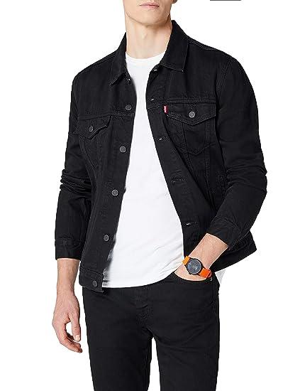 Levis Mens Berkman Trucker Jacket, Black