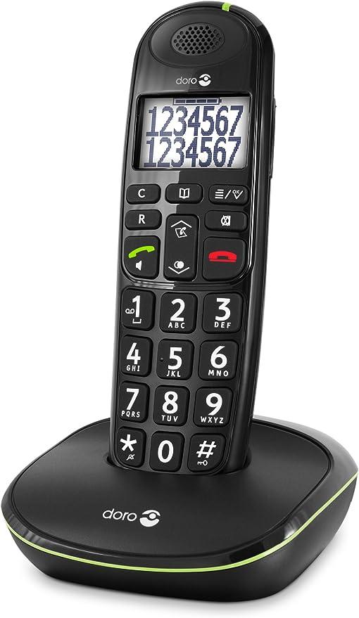 Doro PhoneEasy 110 (X 1 / Negro): Amazon.es: Electrónica