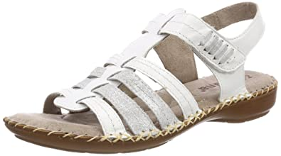 best sneakers ce730 b7596 Jana Damen 28109 Slingback Sandalen