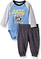 BON BEBE Baby Boys' 2 Piece Bodysuit Set with Sweatpant