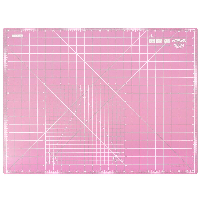 Olfa RM-IC-S/PINK | Self Healing Cutting Mat | 600 x 450mm