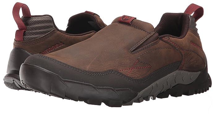 限尺码 Merrell 迈乐 Annex TRAK MOC V底 男式户外徒步鞋 3.2折$34.8 海淘转运到手约¥330
