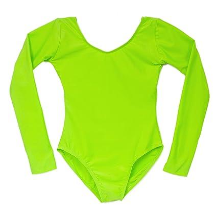 1afefc39e2ad Amazon.com   American Dance Theater Child Scoop Neck Long Sleeve ...
