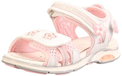 0662aecaf2777 Geox Baby Sandal Anika Sandals Girls White Weiss (white/rose C0674 ...