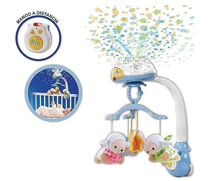 VTech - Móvil proyector cuenta ovejitas dulces sueños para el bebé, juguete de cuna con