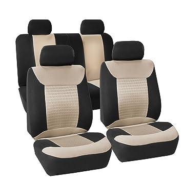 Amazon.com: Cobertores de asiento de coche de tela de ...