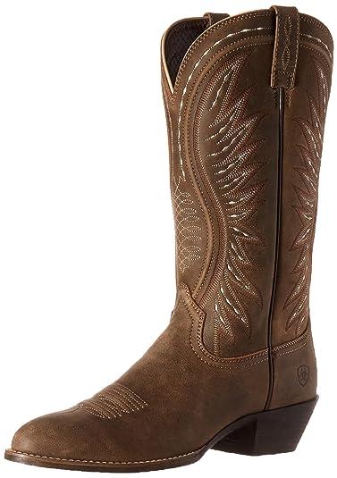 Ariat Women's Ammorette Western Cowboy Boot, Brown Bomber, ...