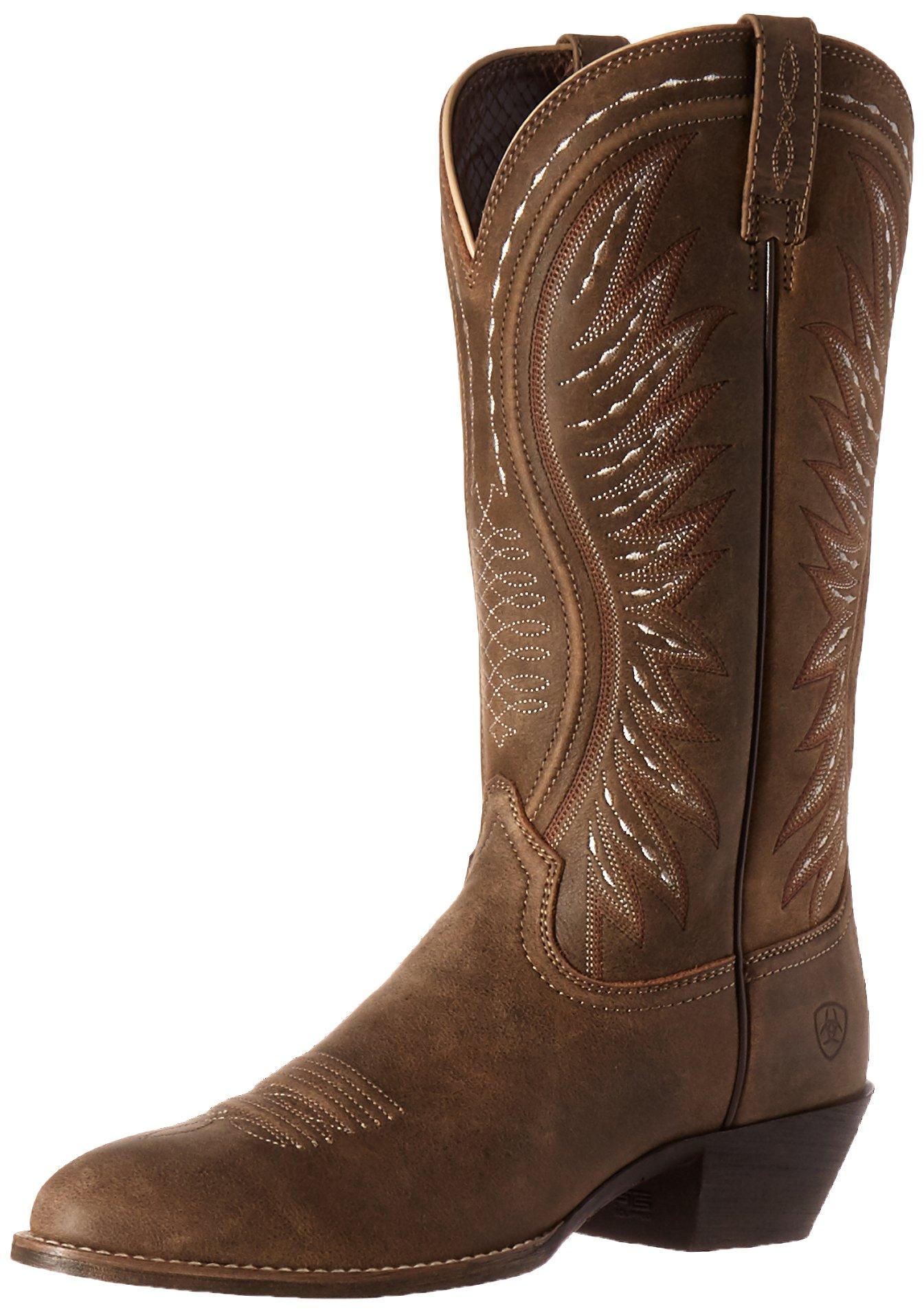 Ariat Women's Ammorette Western Cowboy Boot, Brown Bomber, 9.5 B US
