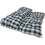 SUGANDHA Large Soft Cotton Multicolour Mattress (2 Sleeping Capacity)_72X48X4-Inch
