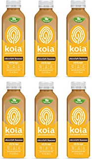 product image for Koia, Chocolate Banana, Plant Powered Nutrition 12 oz (6 Pack)
