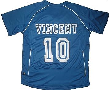 PATOUTATIS NT911-Camiseta maillot de fútbol personalizado con nombre y número de su elección,