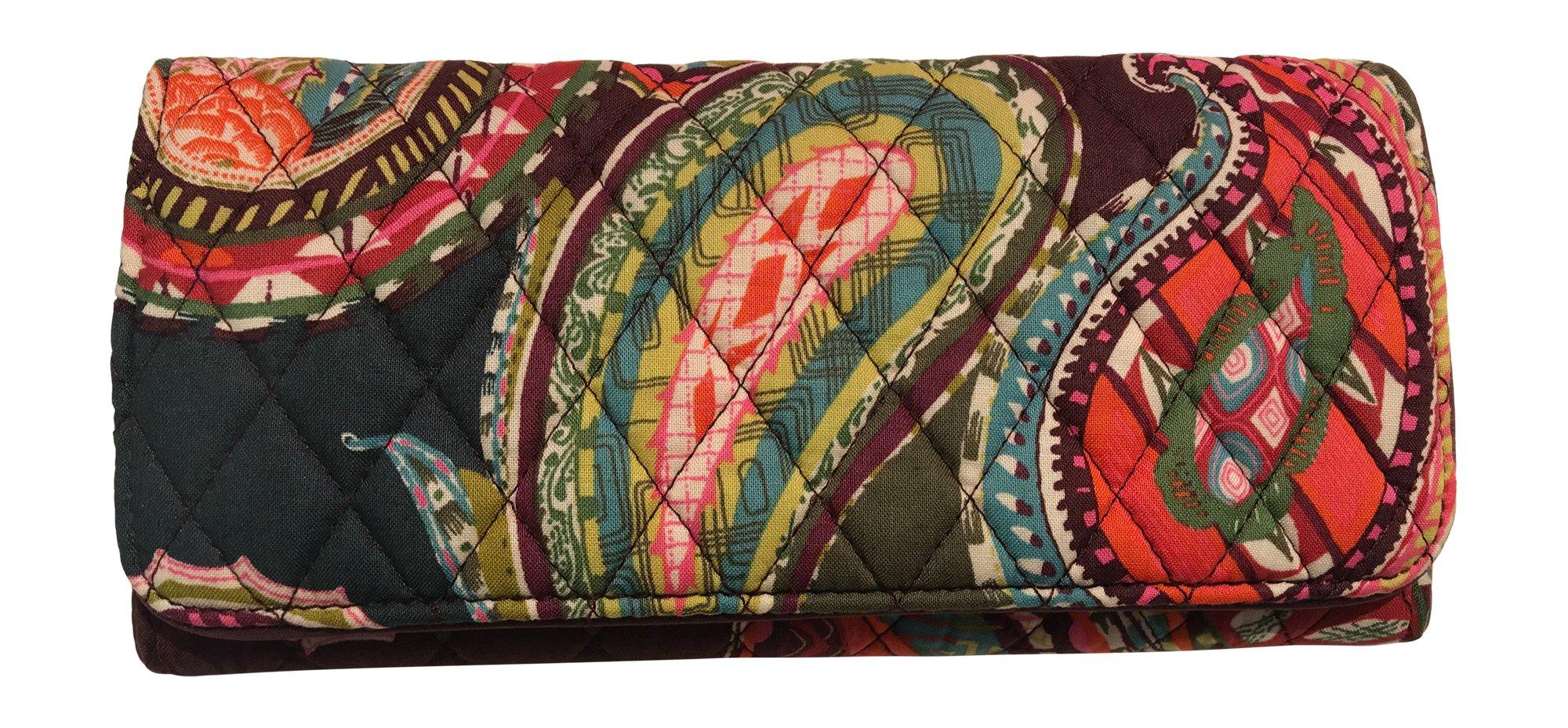 Vera Bradley RFID Trifold Wallet (Heirloom Paisley)
