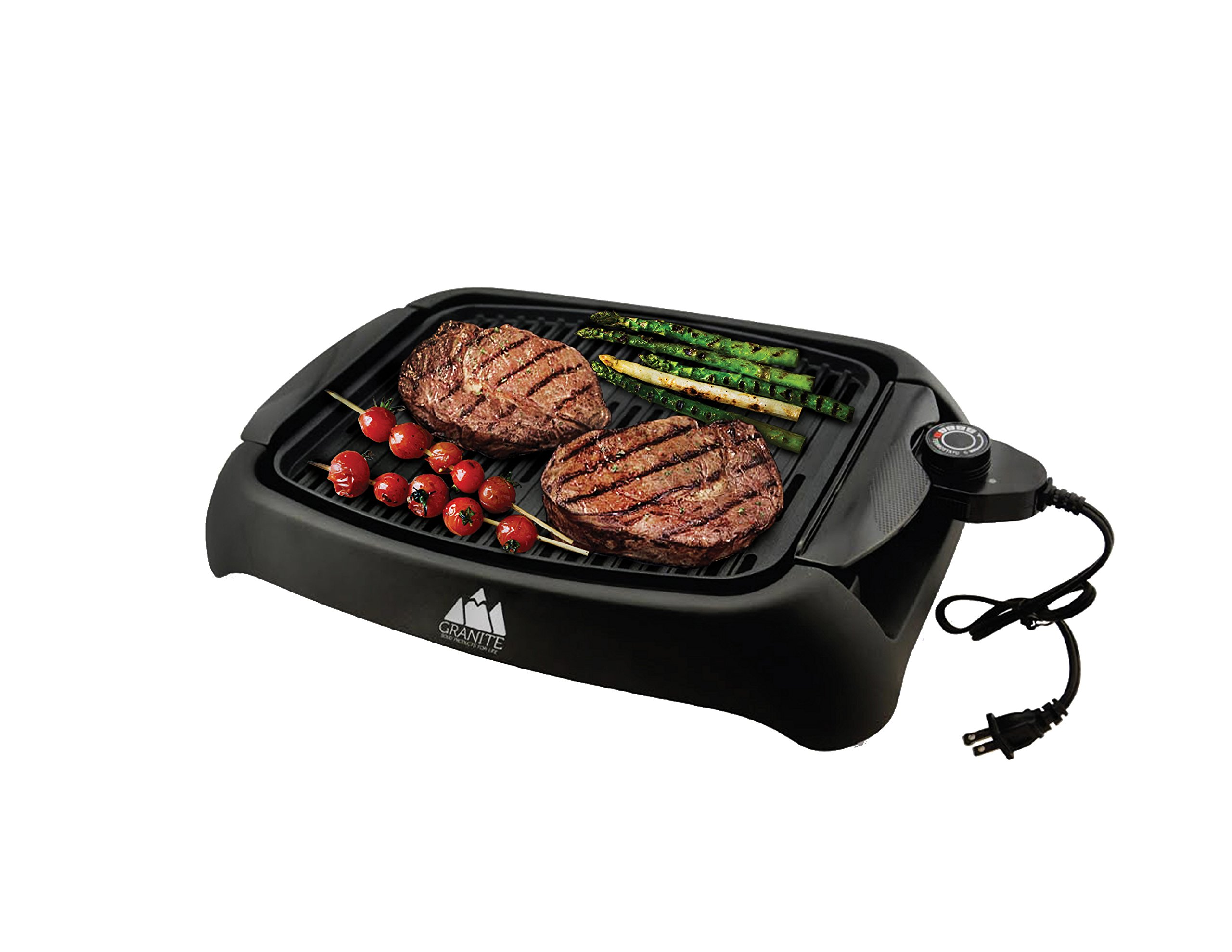 Granite Premium Indoor Smokeless Healthy BBQ Griller